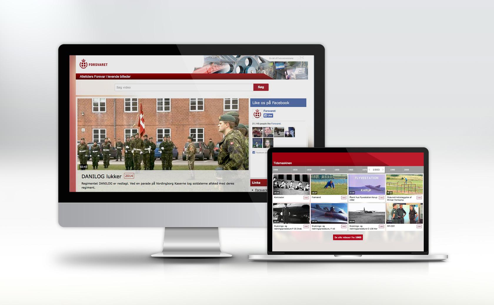 Forsvaret videoarkiv
