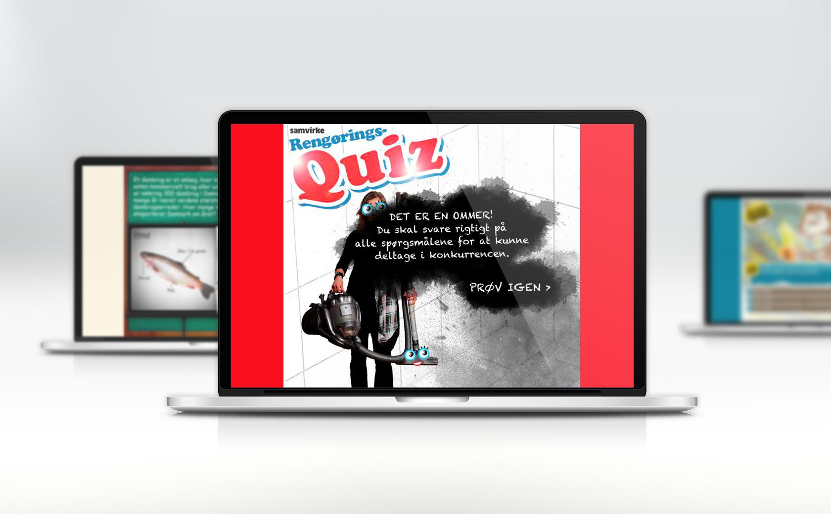 Samvirke quizzer
