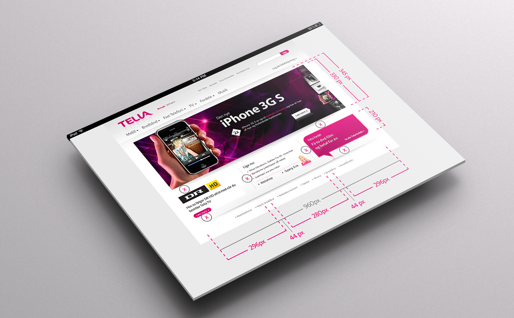 Telia website