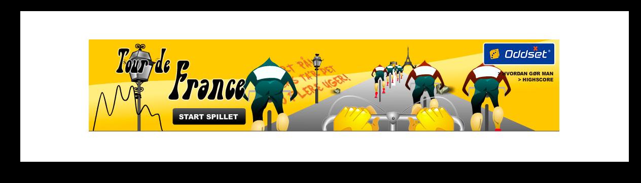 Tour de France Banner