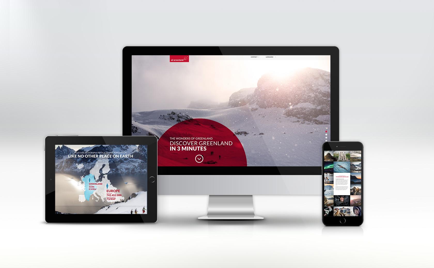 Greenland in 3 min website